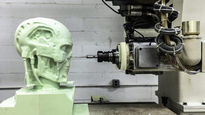 CNC Machining Foam 5-Axis