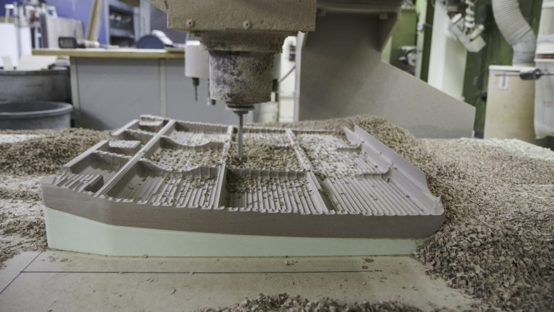 CNC Machining Foam Process